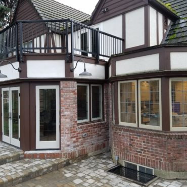 Tudor Style Home Addition